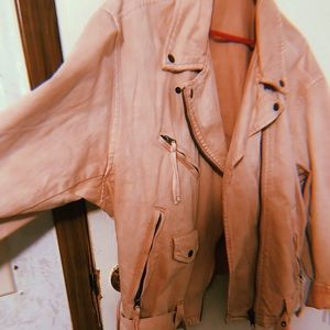 Free People blush colored coat